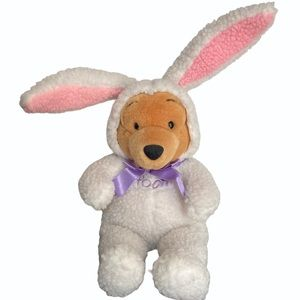 """Winnie The Pooh Easter Bunny Plush 15"""""""